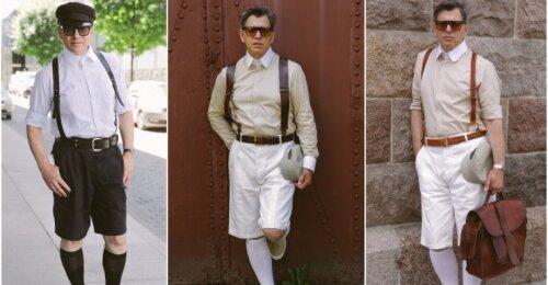 Profesorius Eugenijus Skerstonas išaiškino vyrams, kaip reikėtų vilkėti šortus: sužinoję šias taisykles niekada nesuklysite
