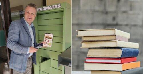 Naujiena Palangoje – knygomatas: biblioteka bus pasiekiama visą parą