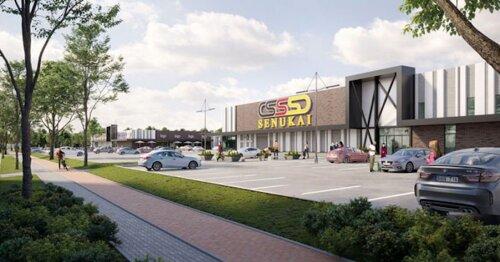 Klaipėdoje dygsta naujas prekybos centras