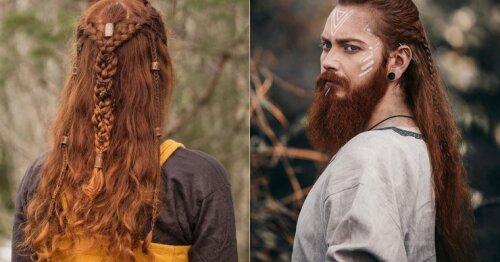 Vikingai moderniajame amžiuje: parodė, kaip papuošti plaukus skandinavišku stiliumi