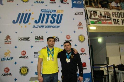 Darius Rudzevičius (dešinėje)