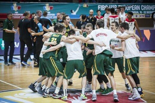 Lietuvos jaunių (U-18) rinktinės krepšininkai