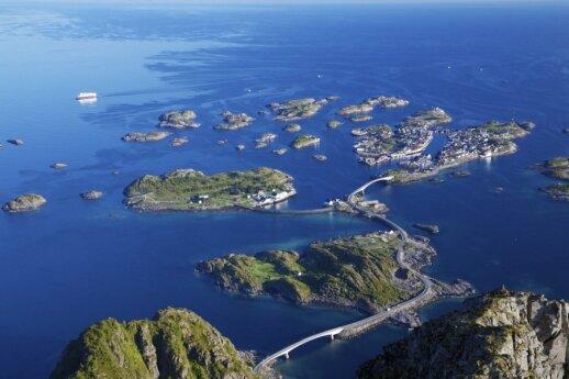 Lofoteno salos, Norvegija