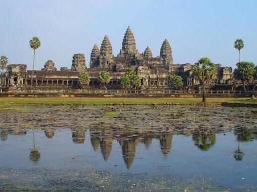 Angkoro šventyklos, Kambodža