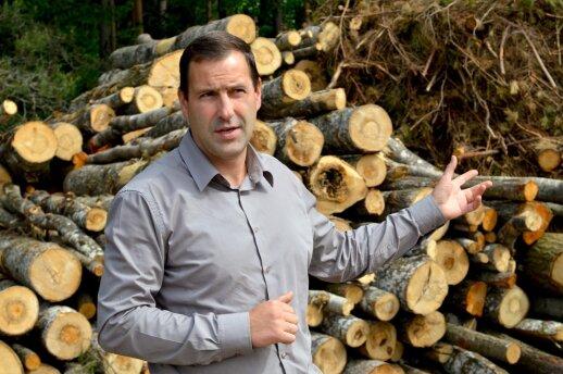 """""""Timbex"""" biokuro plėtros direktorius Egidijus Gaidamavičius."""
