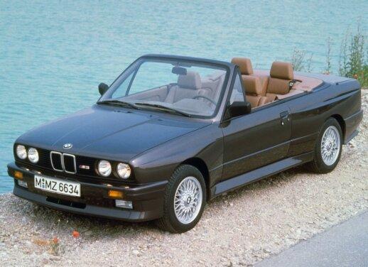 BMW M3 Cabriolet (1988 m.)