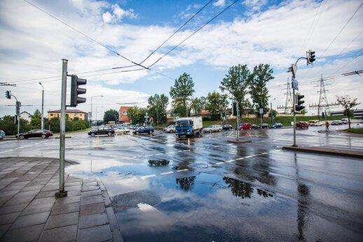 Keiksnojantiems Lenkijos kelius: pažiūrėkite į situaciją Lietuvoje