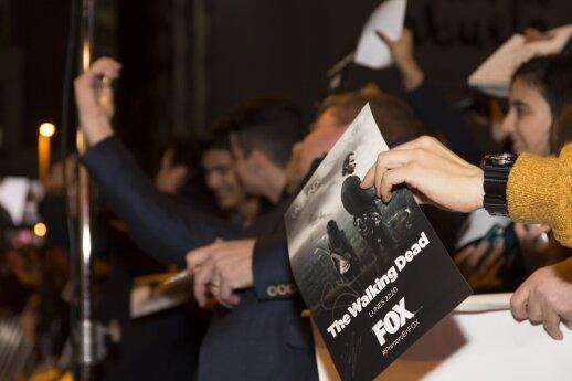 """Serialo """"The Walking Dead"""" 6-ojo sezono antrosios dalies pristatymo renginys"""