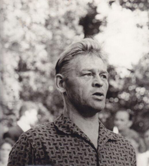 Paulius Širvys apie 1970 m., nuotr. iš Maironio lietuvių literatūros muziejaus fondų