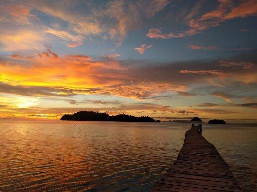Togean salos C.Sulawesi, Indonezija