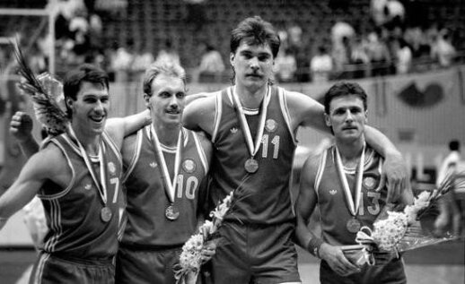 Lithuanians in the 1988 Olympics.