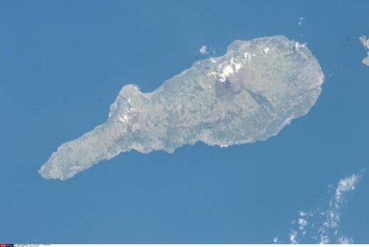 Vertikaliai fiksuojami Azorų salyno vaizdai