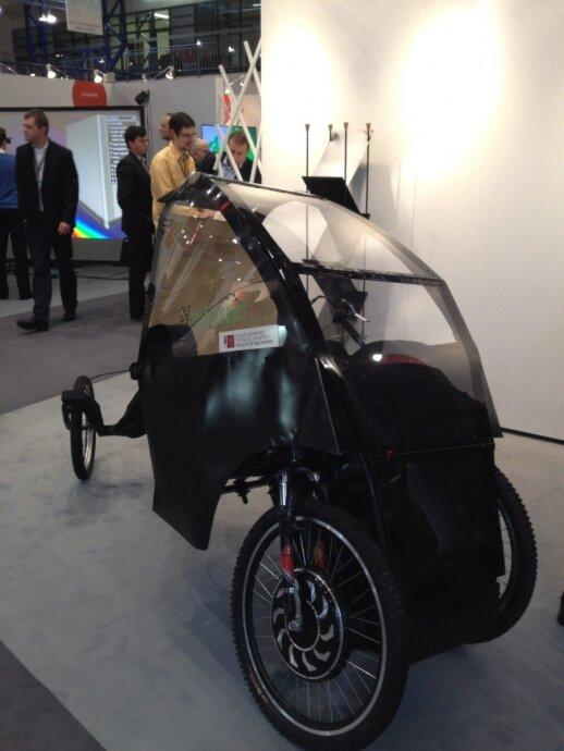 """Литовский электромобиль """"Smart EV"""""""