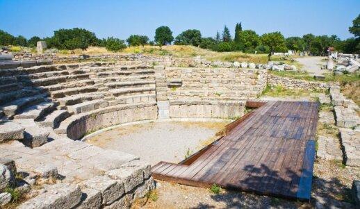 Teatro liekanos senojoje Trojoje, Turkijos teritorijoje