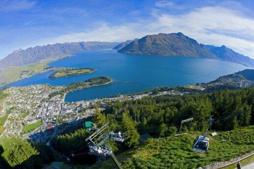Kvinstaunas, Naujoji Zelandija