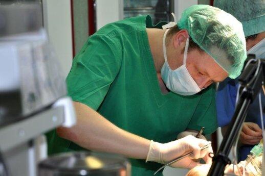 Pirmą kartą Lietuvoje kūdikiui diafragmos išvarža išoperuota modernesniu būdu