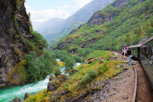 Kelionė po Skandinavijos kalnus