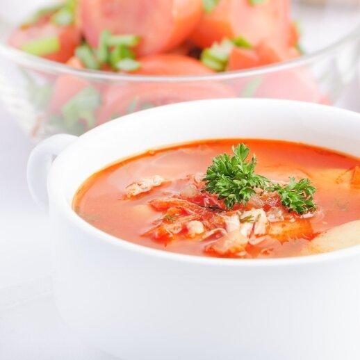 Liekninanti sriuba