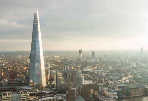 7 būdai pamatyti Londoną iš aukštai