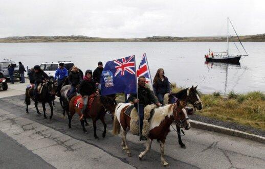 Folklando salų gyventojai