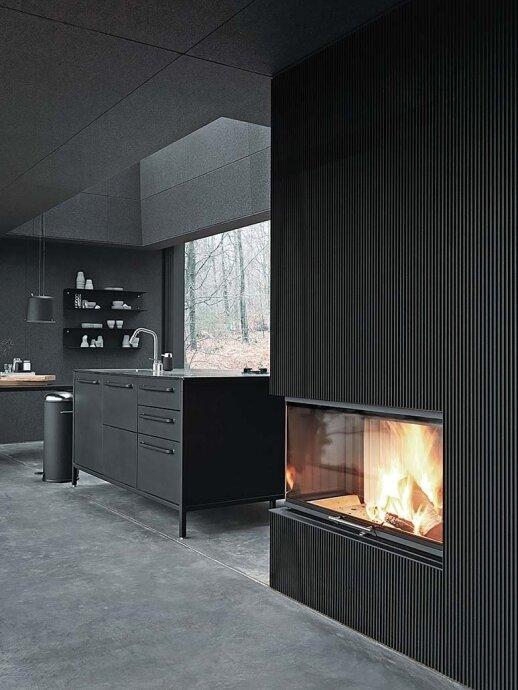 55 kv.m kompaktiškas laisvalaikio namas