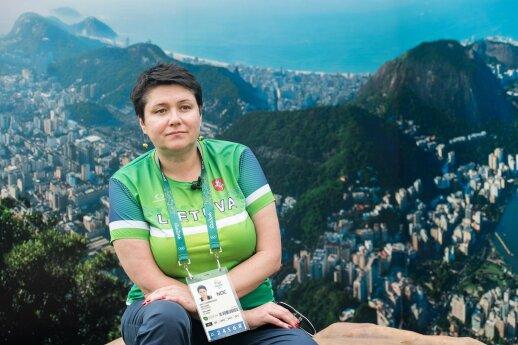 Daina Gudzineviciute in Rio