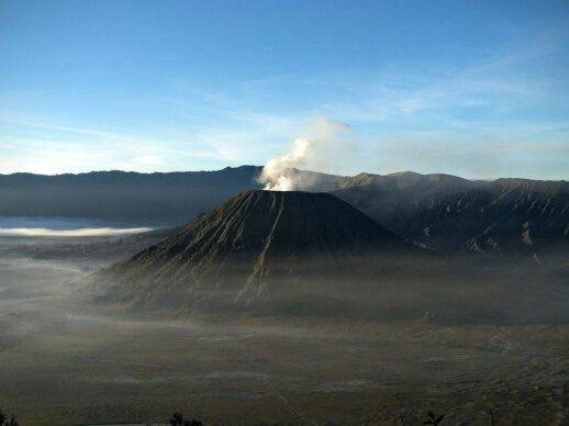 Bromo ir Ijen ugnikalniai Java saloje, Indonezija
