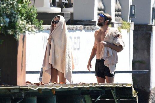 Irina Shayk ir Bradley Cooperis
