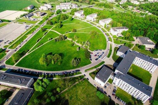 ASU studentų miestelis
