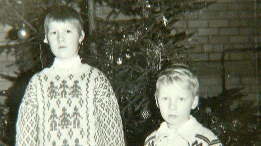 Justinas Lapatinskas su vyresniuoju broliu