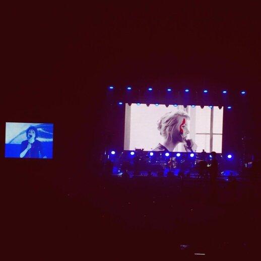 Zemfiros koncerto Vilniuje akimirka