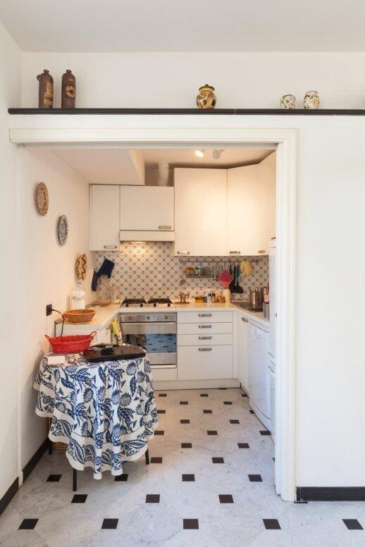 Dizainerė pataria, kaip įrengti virtuvę iki 10 kv.m.
