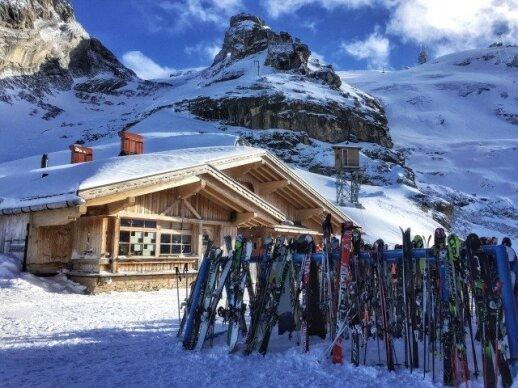 5 metus kalnuose gyvenanti Vaida: apmaudu, kad šįmet Šveicarijoje trūko sniego