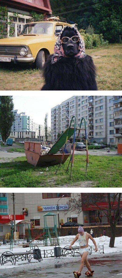 Beprotiška Rusija: baisiai juokingi dar niekur nematyti kadrai