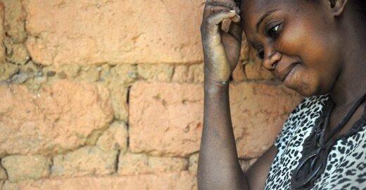 Prievartos auka Kongo Demokratinėje Respublikoje