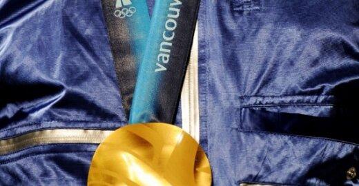 Vankuverio olimpinių žaidynių aukso medalis