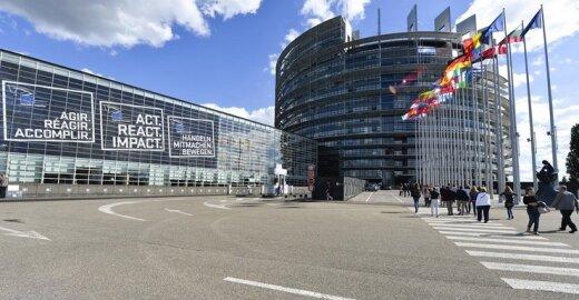 Europos Parlamento rInkiminės kampanijos pristatymas Strabūre