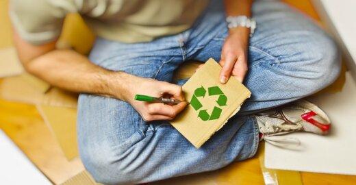 Apsisprendus rūšiuoti, kitaip pradėsite žiūrėti į vartojimo kultūrą