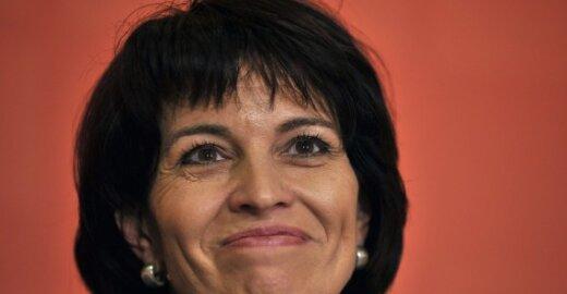 Šveicarijos prezidentė D.Leuthard