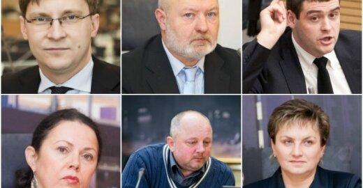 Neetatiniais aplinkosaugininkais tapę Seimo nariai