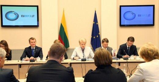 D. Grybauskaitė su EP nariais ieškojo konkurencingumo skatinimo būdų