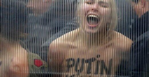 """Femen"" aktyvistės"