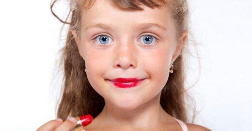 Prancūzija atsisako vaikų su makiažu ir rūbais, pabrėžiančiais seksualumą