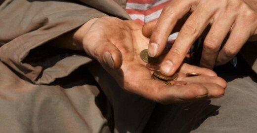 ES šalyse skurdžiai gyvenantieji turėtų gauti 60 proc. VDU?