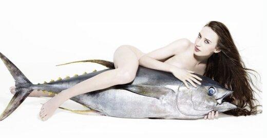 Kas bendro tarp įžymybių ir žuvies?