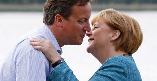 D. Cameronas ir A. Merkel