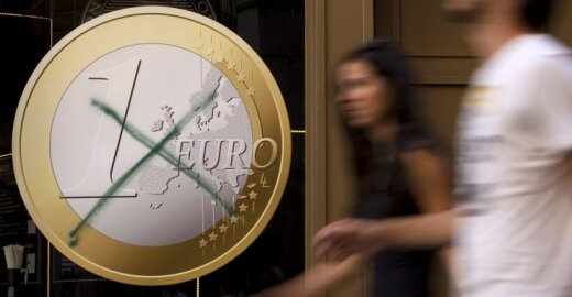 Dar viena šalis nori išstoti iš euro zonos