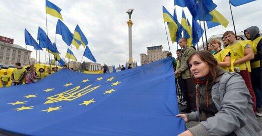 Kaip buvo sukurtas baidyklės ES įvaizdis Ukrainoje?