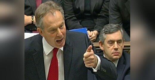 Tony Blairas paskutinėje kassavaitinėje klausimų ir atsakymų sesijoje.