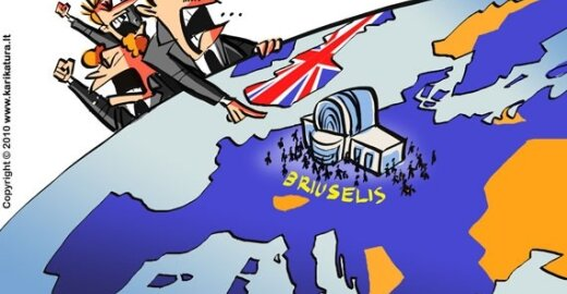 Euroskeptikai britai nori ES įsitvirtinimo pasaulyje